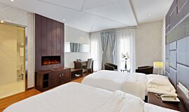 Hotel Room Indoor Fireplaces Fireplace Insert Idea