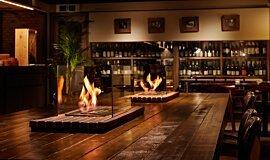 Restaurant La Cave Indoor Fireplaces Ethanol Burner Idea