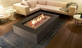 Private Residence Residential Fireplaces Fire Table Idea
