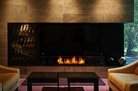 XL1200 Wall Mounted Fireplace - In-Situ Image by EcoSmart Fire