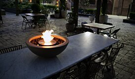 Mix 600 Fire Pit - In-Situ Image by EcoSmart Fire