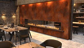 Flex 42DB Flex Fireplace - In-Situ Image by EcoSmart Fire