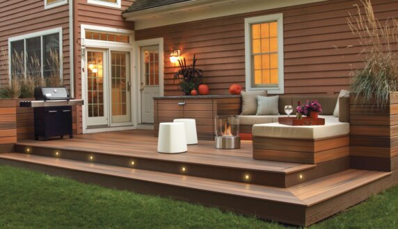 Private Residence - Glow Fire Pit by EcoSmart Fire