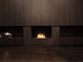 Private Residence - Flex 32SS Fireplace Insert by EcoSmart Fire