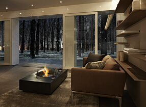 Private Residence - Martini 50 Fire Table by EcoSmart Fire