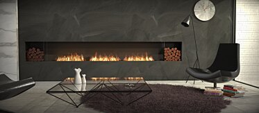 Living Room - Single Sided Fireplaces
