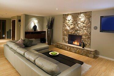 Lounge Room - Single Sided Fireplaces