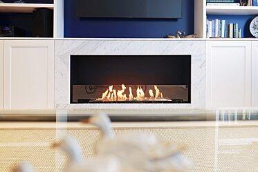 Tresor Drummoyne - Single Sided Fireplaces