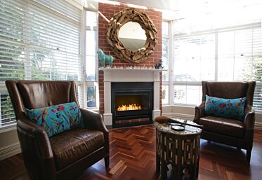 Private Residence - Fireplace Grates