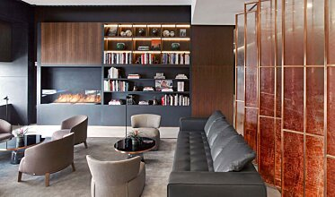 St Regis Hotel Bar - Outdoor Fireplaces
