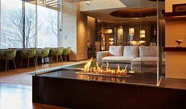 Midorinokaze Resort Kitayuzawa - Hospitality Fireplaces