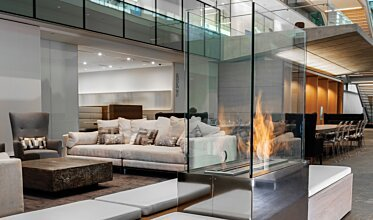 Nu Skin Innovation Centre Provo - Commercial Fireplaces