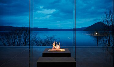 BK5 Centrepiece Fireplace - In-Situ Image by EcoSmart Fire