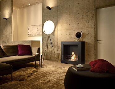 Private Residence - Designer Fireplaces