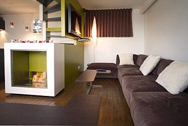 Chalet LaPlagne - Designer Fireplaces