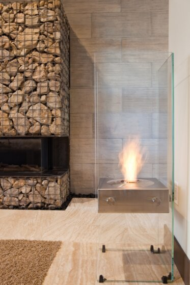 New American Home - Designer Fireplaces