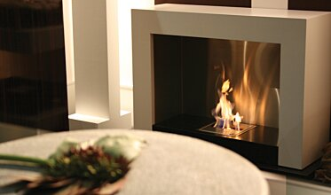 Oxygen Designer Fireplace - In-Situ Image by EcoSmart Fire