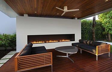 Flex 158SS Single Sided Fireplace by EcoSmart Fire - Single Sided Fireplaces