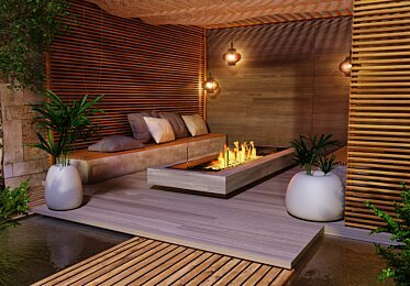 Residential - Outdoor Fireplaces