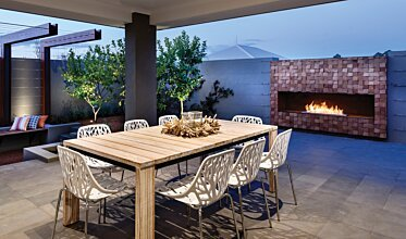 The Brindabella - Outdoor Fireplaces