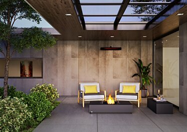 Courtyard - Outdoor Fireplaces