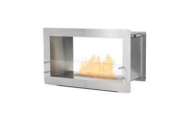 Firebox 1000DB Double Sided Fireplace - Studio Image by EcoSmart Fire
