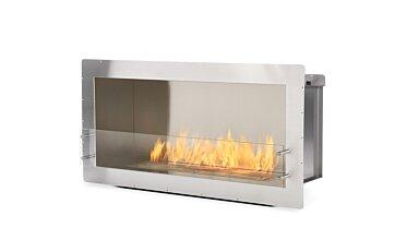 Firebox 1200SS Single Sided Fireplace - Studio Image by EcoSmart Fire