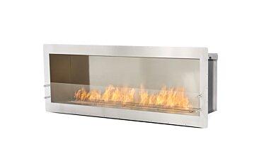 Firebox 1700SS Single Sided Fireplace - Studio Image by EcoSmart Fire