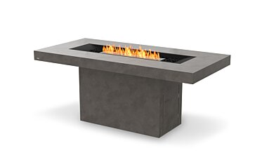 Gin 90 (Bar) Fire Table - Studio Image by EcoSmart Fire