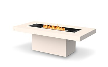 Gin 90 (Dining) Fire Table - Studio Image by EcoSmart Fire