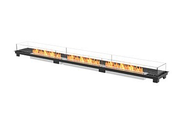 Linear 130 Built-In Fireplace - Studio Image by EcoSmart Fire