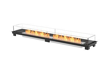 Linear 90 Built-In Fireplace - Studio Image by EcoSmart Fire