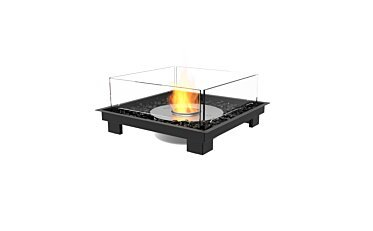 Square 22 Built-In Fireplace - Studio Image by EcoSmart Fire