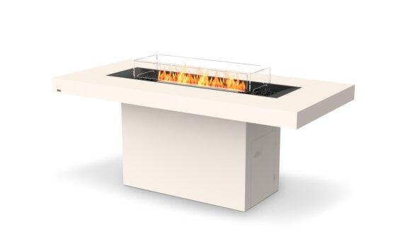 Gin 90 (Bar) Fire Table - Ethanol - Black / Bone / Optional Fire Screen by EcoSmart Fire
