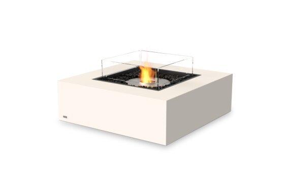 Base 40 Fire Table - Ethanol / Bone / Optional Fire Screen by EcoSmart Fire