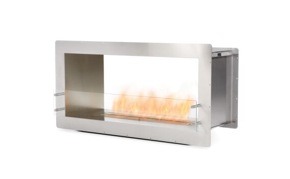 Firebox 1200DB Double Sided Fireplace - Ethanol / Stainless Steel by EcoSmart Fire