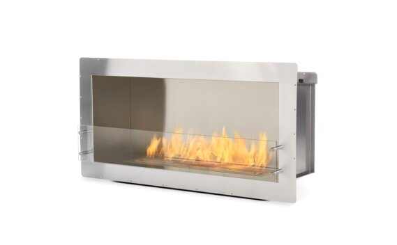 Firebox 1200SS Single Sided Fireplace - Ethanol / Stainless Steel by EcoSmart Fire