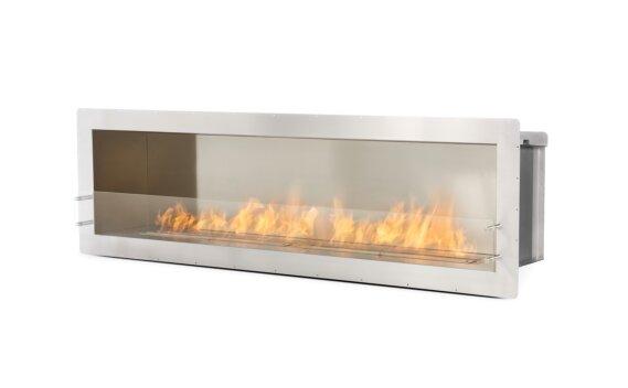 Firebox 2100SS Single Sided Fireplace - Ethanol / Stainless Steel by EcoSmart Fire