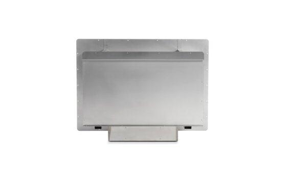 Firebox 800SS Single Sided Fireplace - Ethanol / Stainless Steel / Rear View by EcoSmart Fire