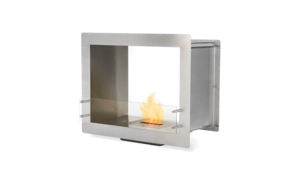 Firebox 900DB Double Sided Fireplace - Ethanol / Stainless Steel by EcoSmart Fire