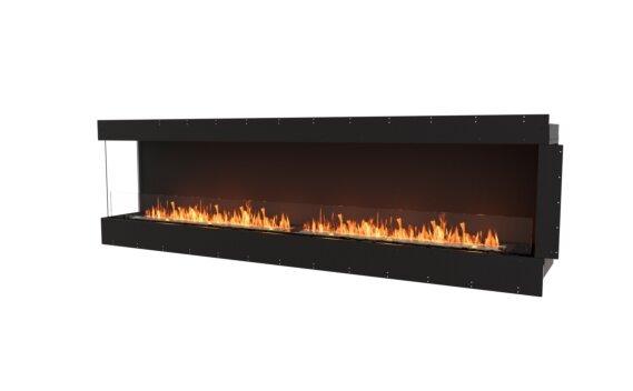 Flex 104LC Left Corner - Ethanol / Black / Uninstalled View by EcoSmart Fire