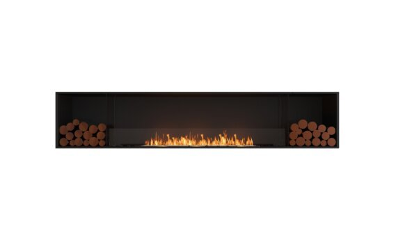 Flex 104SS.BX2 Single Sided - Ethanol / Black / Installed View by EcoSmart Fire