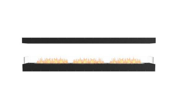 Flex 122IL Island - Ethanol / Black / Uninstalled View by EcoSmart Fire