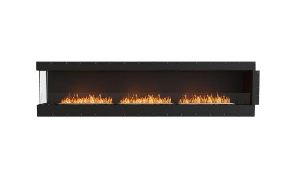 Flex 122LC Left Corner - Ethanol / Black / Uninstalled View by EcoSmart Fire