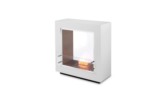 Fusion Designer Fireplace - Ethanol / White by EcoSmart Fire