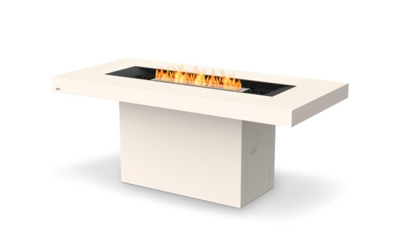 Gin 90 (Bar) Fire Table - Ethanol / Bone by EcoSmart Fire