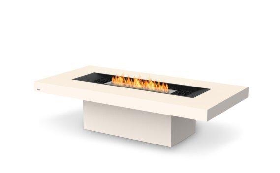 Gin 90 (Chat) Fire Table - Ethanol / Bone by EcoSmart Fire