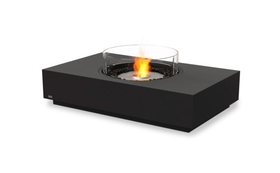 Martini 50 Fire Table - Ethanol / Graphite / Optional Fire Screen by EcoSmart Fire