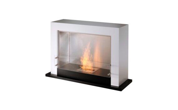 Oxygen Designer Fireplace - Ethanol / White by EcoSmart Fire
