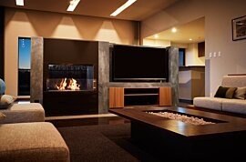 Firebox 800DB Premium Fireplace - In-Situ Image by EcoSmart Fire
